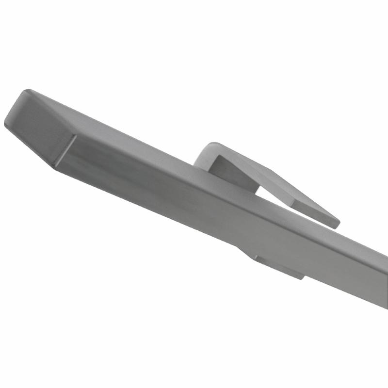RVS geborstelde trapleuning plat - 350 cm 0