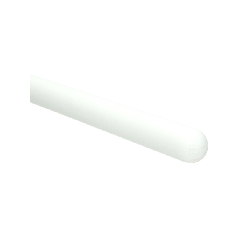 Trapleuning wit gegrond rond 40 mm 350 cm 0