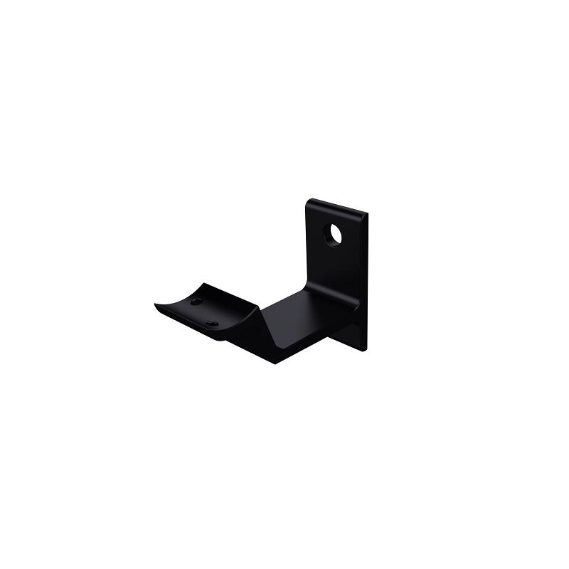 Leuninghouder hol modern zwart - beton/steen 0