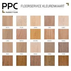 Floorservice kleurenkaart